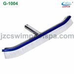 Deluxe wall brush with painted aluminum back 18''/45cm (G-1005)