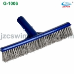 Stainless steel pool wall brush (G-1006)
